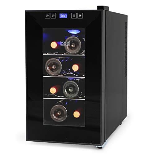 BLACK+DECKER BD60026 8 Bottle Wine Cellar