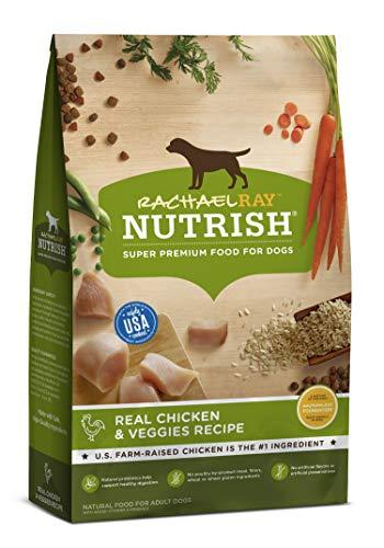 Rachael Ray Nutrish Premium Natural Dry Dog Food, Real Chicken & Veggies Recipe, 28 Lb