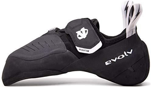 Evolv Phantom Climbing Shoe - Men's Black/White 13