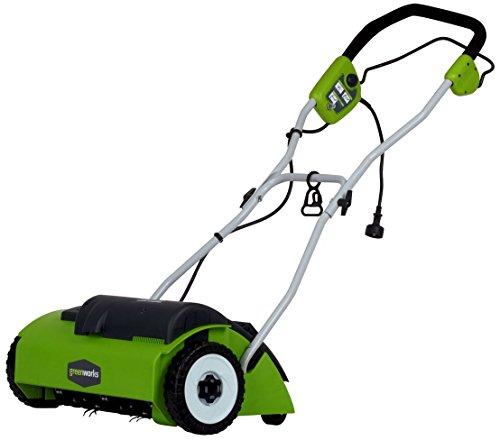 Greenworks 14-Inch 10 Amp Corded Dethatcher 27022 (Renewed)