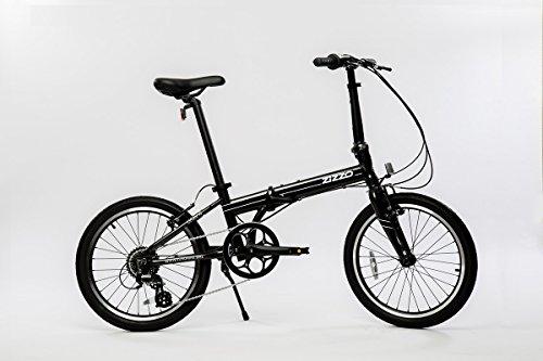 EuroMini Urbano 24lb Lightest Aluminum Frame Genuine Shimano 8-Speed 20' Folding Bike (Gray)