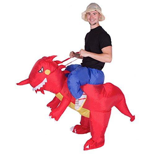 Bodysocks Adult Inflatable Dragon Fancy Dress Costume