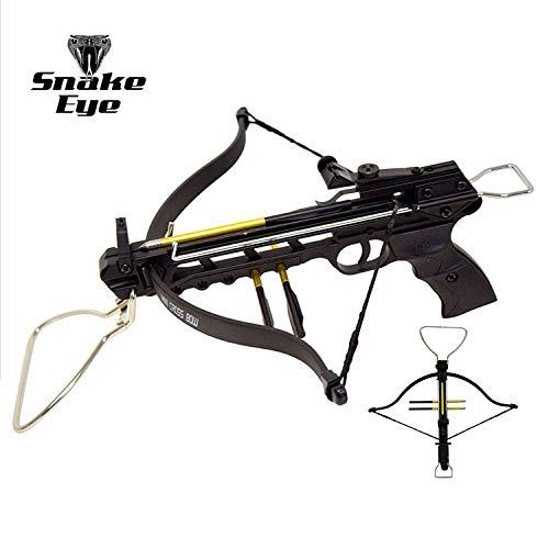 Snake Eye Tactical 80lbs Self Cocking Cobra Crossbow with 15 Arrows (Regular)