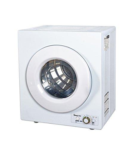 Magic Chef MCPMCSCDRY1S MCSDRY1S 2.6 cu. ft. Laundry Dryer, White