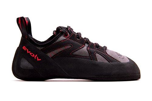 Evolv Nighthawk Climbing Shoe - Men's Gray/Black 14