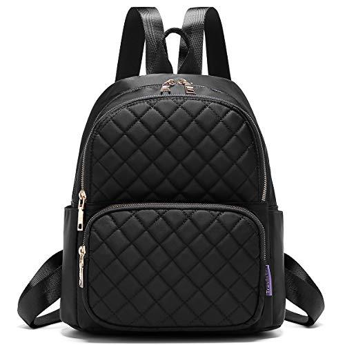 Backpack for Women, Fashion Backpack Multipurpose Design Handbags and Shoulder Bag Travel Backpack Purse Black