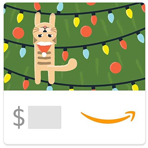 Amazon eGift Card - Christmas Kitty