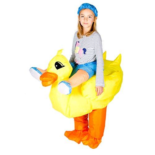 Bodysocks Kids Inflatable Duck Fancy Dress Costume