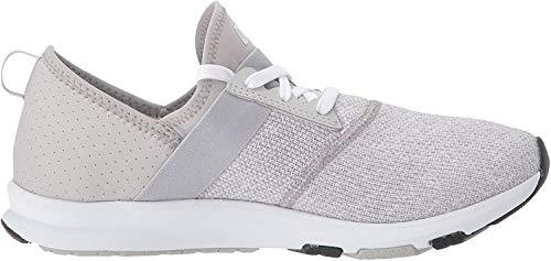 New Balance Women's FuelCore Nergize V1 Sneaker, Overcast/White/Heather, 8.5 M US