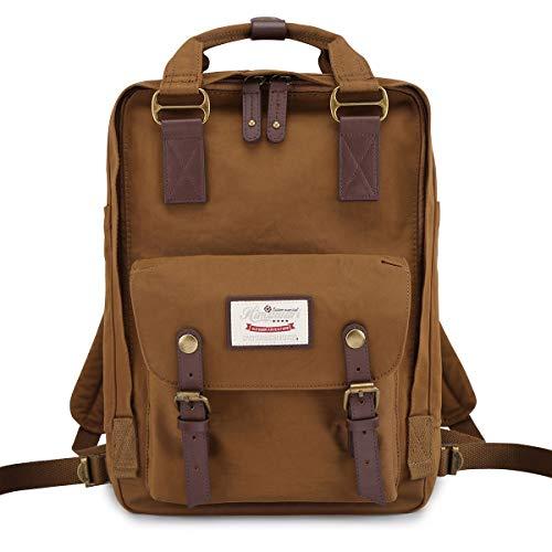 Himawari School Waterproof Backpack 14.9' College Vintage Travel Bag for Women,14 inch Laptop for Student(HIM-53#)