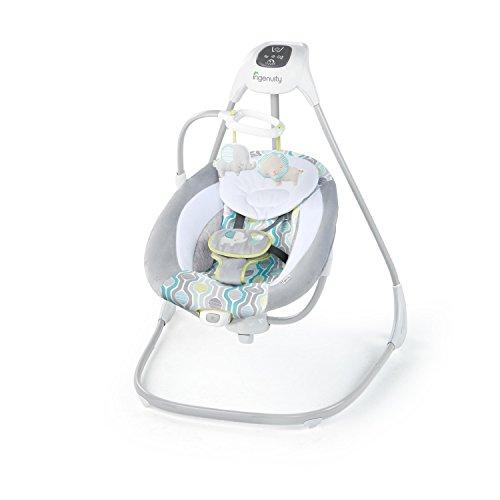 Ingenuity Simple Comfort Cradling Swing, Everston