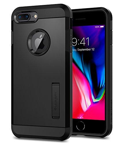 Spigen Tough Armor [2nd Generation] Designed for iPhone 8 Plus Case (2017) / Designed for iPhone 7 Plus Case (2016) - Black