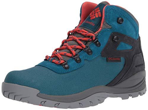 Columbia Women's Newton Ridge LT Waterproof Hiking Boot, Dark Turquoise/zing, 9 Regular US