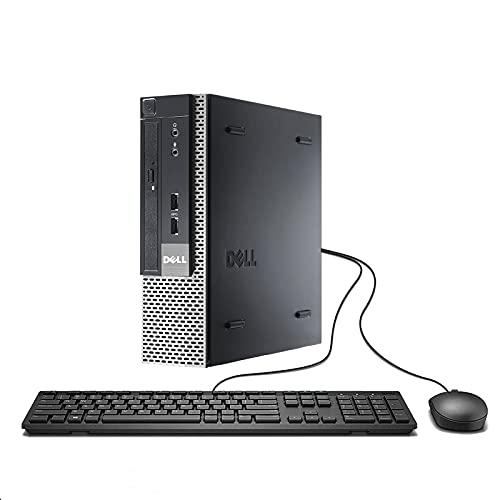Dell Optiplex 9010 Ultra Small Desktop PC, Intel Quad Core i5 Processor, 16GB RAM, 512GB Solid State Drive, Windows 10 Professional, DVD, HDMI, Bluetooth, Keyboard, Mouse, WiFi (Renewed)