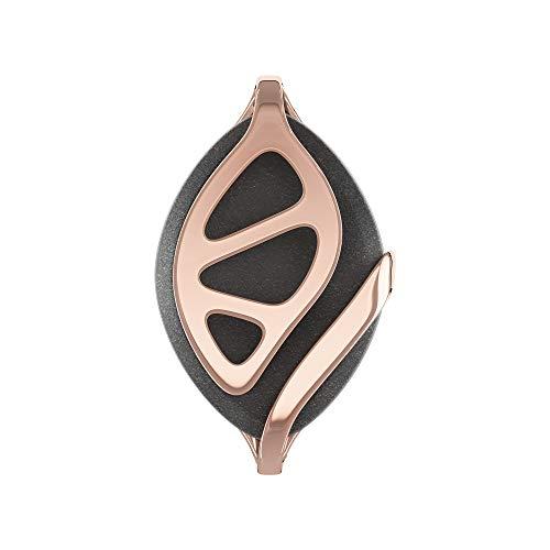 Bellabeat Leaf Urban Smart Jewelry Health Tracker, Urban Black / Rose Gold