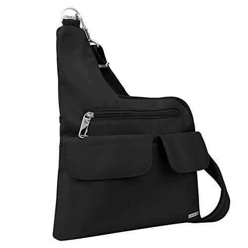Travelon Luggage Anti-Theft Cross-Body Bag, Black