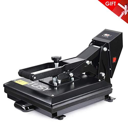 Heat Press - TUSY Digital Heat Transfer Sublimation 15' x 15', Industrial Quality Heat Press Machine for T Shirts