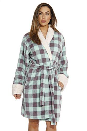 Just Love Kimono Robe Bath Robes for Women 6343-10197-M
