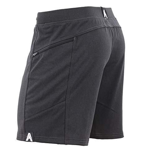 Anthem Athletics Hyperflex 7' Workout Training Gym Shorts - Volcanic Black G2 - XX-Large