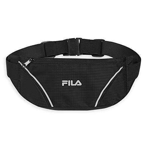 FILA Accessories Waist Pack - Running Belt Fanny Pack | Adventurer Adjustable Sports Pouch Phone Holder for Women & Men | Running, Walking, Cycling, Exercise & Fitness