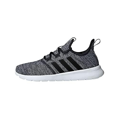 adidas Women's Cloudfoam Pure 2.0 Running Shoes, Black/Black/White, 7.5