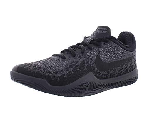 Nike Men's Kobe Mamba Rage Basketball Shoes (10, Black/Dark Grey-M)