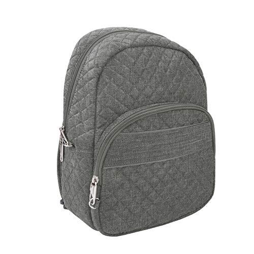 Travelon: Anti-Theft Boho Backpack - Gray Heather