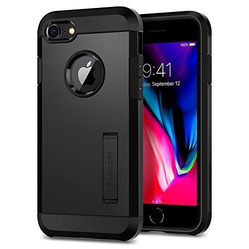 Spigen Tough Armor [2nd Generation] Designed for iPhone 8 Case (2017) / Designed for iPhone 7 Case (2016) - Black