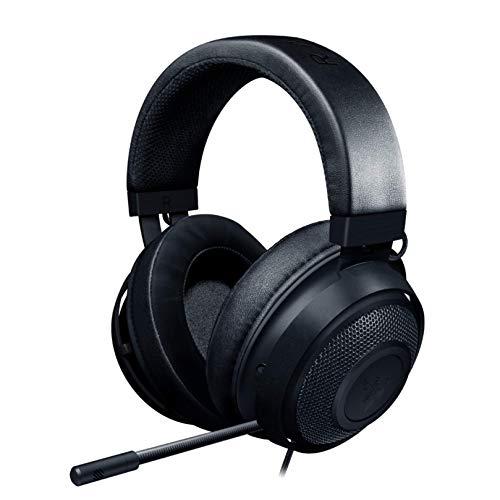 Razer Kraken Gaming Headset: Lightweight Aluminum Frame - Retractable Noise Isolating Microphone - For PC, PS4, Nintendo Switch - 3.5 mm Headphone Jack - Classic Black