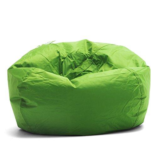 Big Joe Classic 98 Bean Bag Chair, 33'L x 33'W x 20'H, Spicy Lime