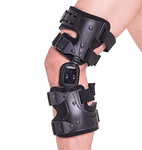 MB Medical Braces OA Unloader Knee Brace for Osteoarthritis of the Knee, Rheumatoid Arthritis, Knee Joint Pain and Degeneration, Universal Size, Black, Left Lateral, Right Medial