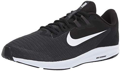Nike Men's Downshifter 9 Running Shoe, black/white - anthracite - cool grey, 10.5 Regular US