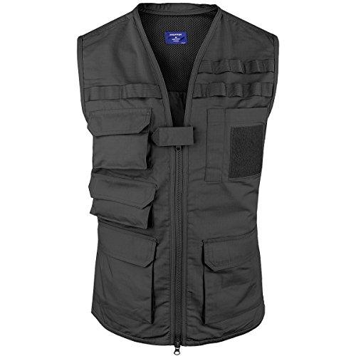 Propper Men's Tactical Vest, Black, Medium