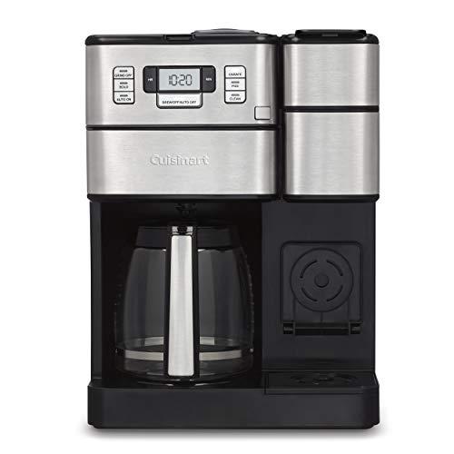 Cuisinart SS-GB1 Coffee Center Grind & Brew Plus Silver, 10.75'(L) x 11.73'(W) x 15.93'(H)