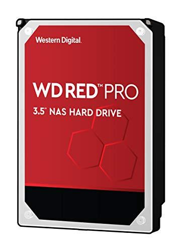 WD Red Pro 10TB NAS Internal Hard Drive - 7200 RPM Class, SATA 6 Gb/s, 256 MB Cache, 3.5' - WD101KFBX