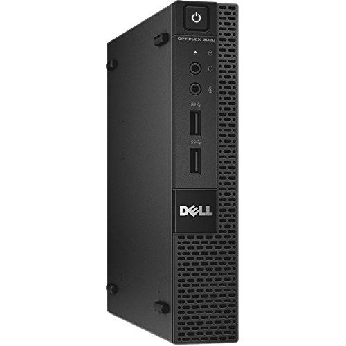 Dell Optiplex 9020 Ultra Small Tiny Desktop Micro Computer PC (Intel Core i3-4160T, 8GB Ram, 256GB Solid State SSD, WiFi, HDMI Win 10 Pro (Renewed)