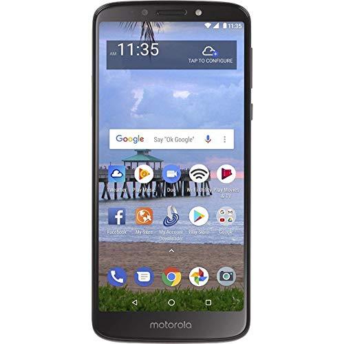 Motorola Moto E5 (16GB, 2GB) 5.7' Display, 4000 mAh All Day Battery, FM radio - (GSM + Verizon) Factory Unlocked 4G LTE Smartphone - XT1920DL (US Warranty) (Gray)