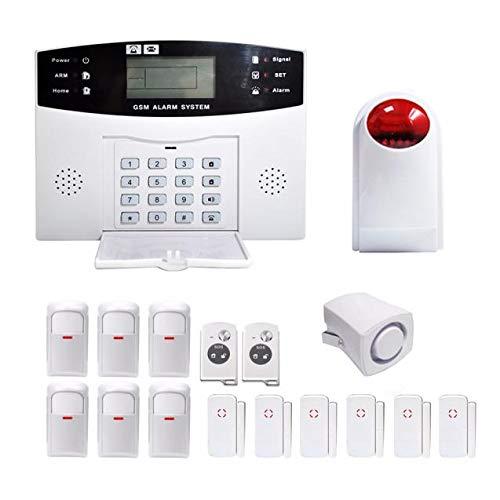 Wireless Autodial Burglar Security Alarm System DIY Kit Home Door Window Motion Detector Sensor