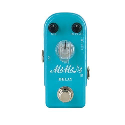 MIMIDI Delay Pedal Guitar, Super Mini Effect Pedal Analog Delay Pedal True Bypass (306 Delay)