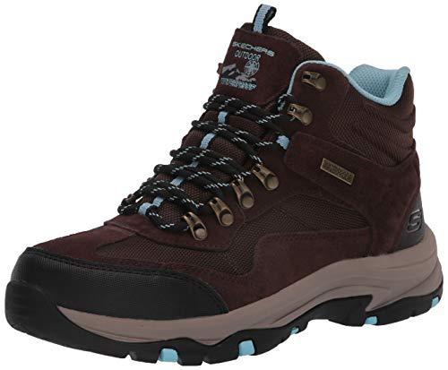 Skechers womens Hiker Hiking Boot, Chocolate, 9.5 US