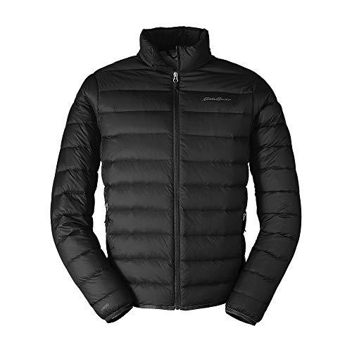 Eddie Bauer Men's CirrusLite Down Jacket, Black Regular L