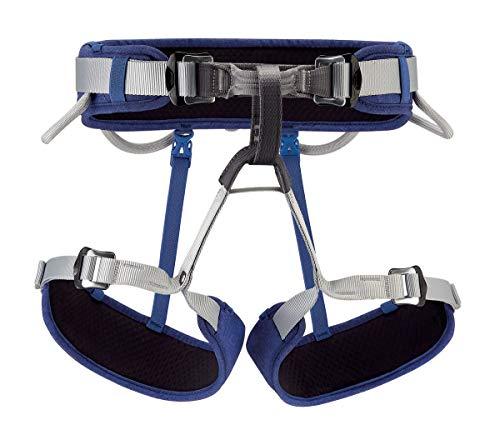 PETZL - Corax Climbing Harness, Blue 2.0, Size 1 (65-96 cm)