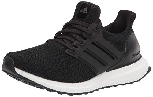 adidas Women's Ultraboost DNA Running Shoe, Black/Black/White, 7.5