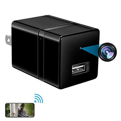Spy Camera Wireless USB Charger Camera Home Security Hidden Camera HD 1080P Motion Detection Surveillance Camera