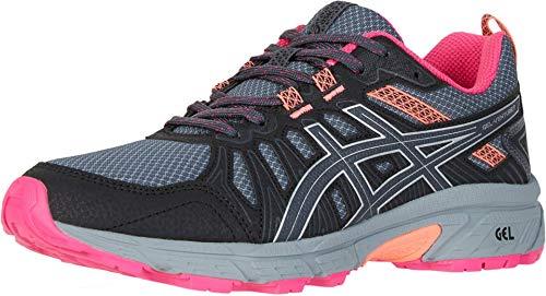 ASICS Women's Gel-Venture 7 Running Shoes, 8.5M, Carrier Grey/Silver