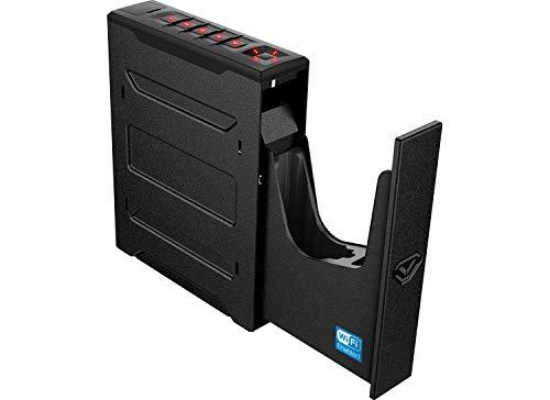 Vaultek Slider Series Rugged Bluetooth Smart Handgun Safe Quick Open Pistol Safe with Rechargeable Li-ion Battery (Biometric + WiFi)