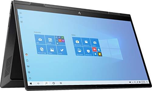 Newest HP Envy X360 2 in 1 15.6' FHD Touchscreen Laptop, AMD 4th Gen 8-Core Ryzen 7 4700U (Beat i7-8550U), 32GB RAM, 1TB PCIe SSD, Backlit Keyboard, Fingerprint Reader, Windows 10