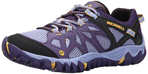 Merrell Women's All Out Blaze Aero Sport Hiking Water Shoe,Parachute Purple,10 M US