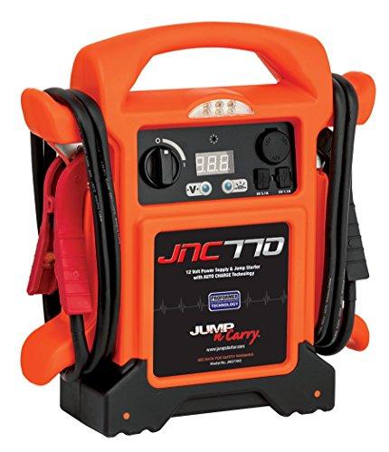 Clore Automotive Jump-N-Carry JNC770O 1700 Peak Amp Premium 12 Volt Jump Starter - Orange w/Cover