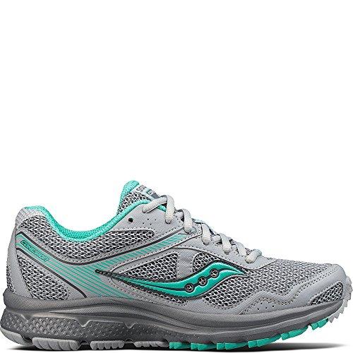 Saucony Women's Cohesion TR10 Running Shoe, Grey Mint, 8.5 Medium US